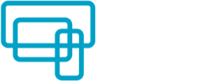 Smokefree media logo with white text