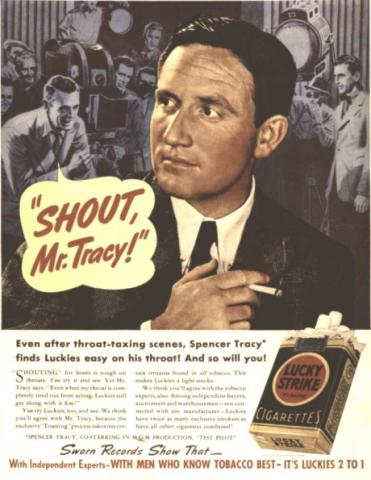 Spencer Tracy Ad
